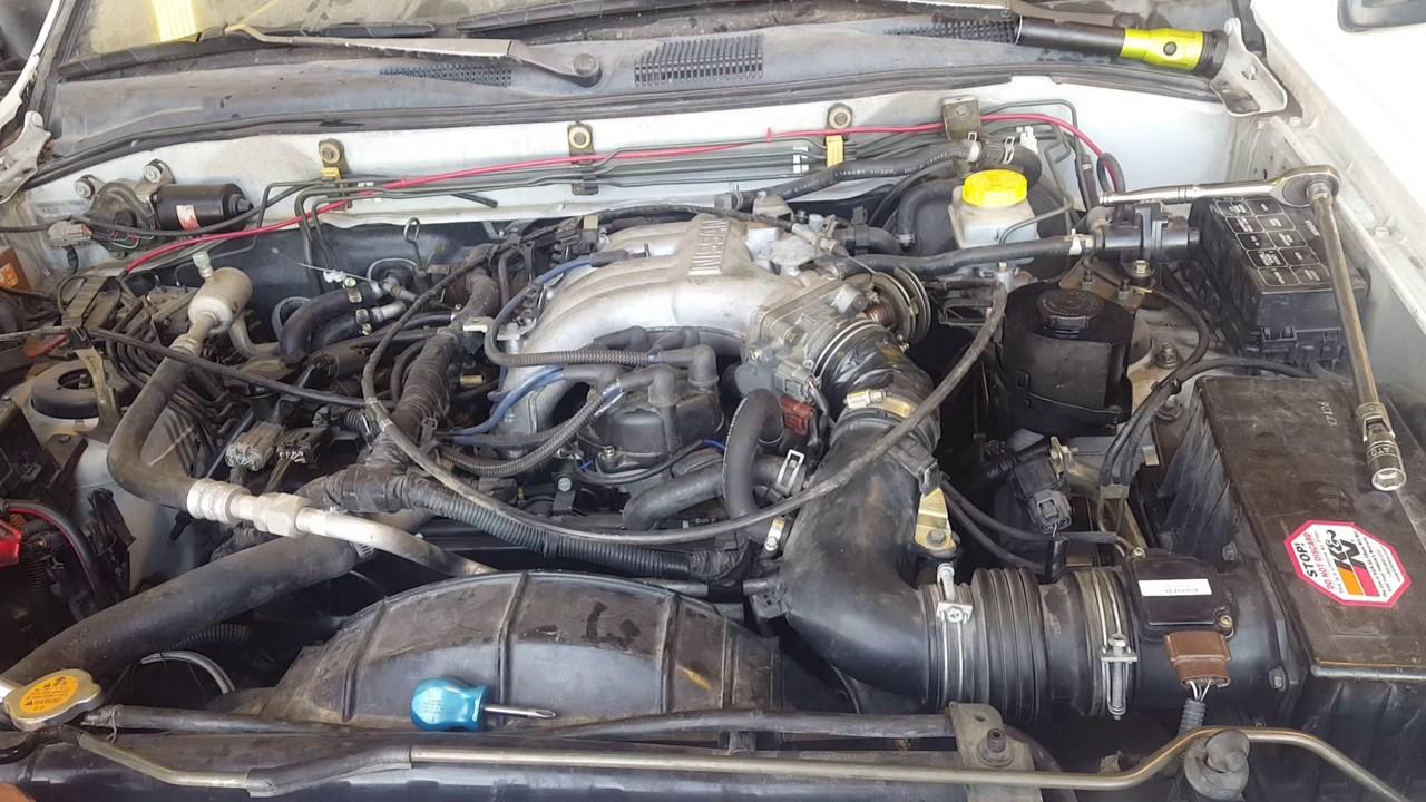 1997 Nissan Pathfinder  Engine Bay  YouTube