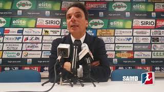 Sambenedettese - Renate 2-0, Ezio Capuano / Serie C Girone B 2017-18