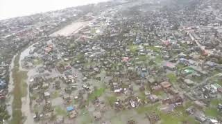 Cyclone, floods devastate Mozambique port city