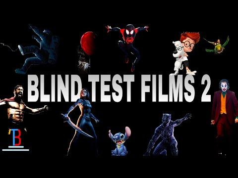 BLIND TEST FILMS 2 DE 110 EXTRAITS  (AVEC RÉPONSES)