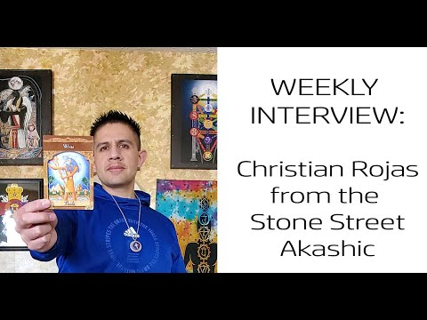 Weekly Interview (Ep. 4): Christian Rojas From Stone Street Akashic