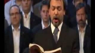 "Baríton Xavier Mendoza - Haendel Messiah: Bass Aria ""Why to the nations..."""