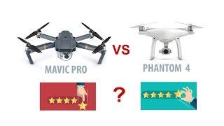 Mavic Pro o Phantom 4 Pro? Quale Scegliere?! Guarda questo video prima di decidere!
