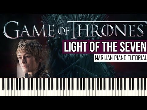 How To Play: Game Of Thrones - Light Of The Seven | Piano Tutorial + Sheets thumbnail