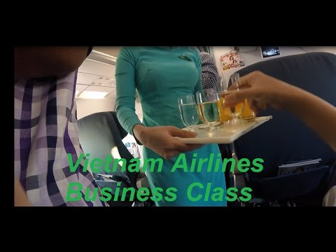 Vietnam Airlines Business Class Airbus A321 Singapore to Ho Chi Minh