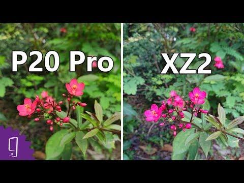 Huawei P20 Pro vs Sony Xperia XZ2 Camera comparison丨Low Light Photo丨960FPS Slow Motion丨