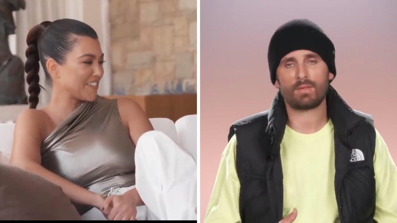 "Kourtney Kardashian To Jealous Scott Disick ""I don't care, Live your life"""