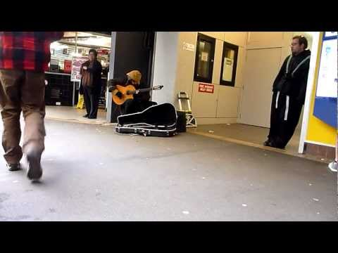 Street Musician Wellington, New Zealand