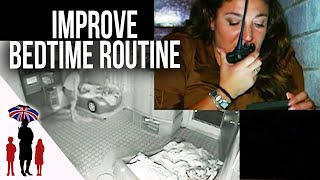 Supernanny Coaches Parents Through Bedtime Routine | Supernanny