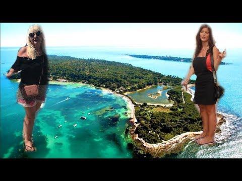 Magicno Ostrvo KRIJE VELIKE TAJNE French Riviera Saint Honorat Island