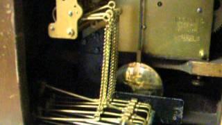 1920 Hac Hamburg American Trinity Chimes 8 Day Mantel Clock