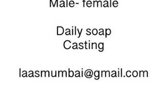 Casting Call - Hindi Serials & Marathi Film