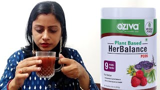 OZiva Herbalance PCOS | Treating Hormonal imbalance and PCOS | Honest Review After Use | Worth it