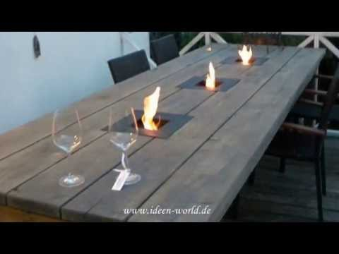 gartentisch videolike. Black Bedroom Furniture Sets. Home Design Ideas