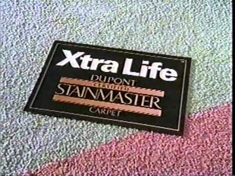 1993 Dupont Stainmaster Carpet Commercial Youtube