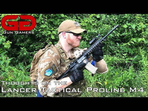 Thoughts On The Lancer Tactical Proline M4 RIS (LT-04)