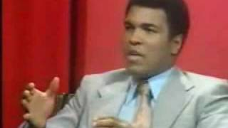 Muhammad Ali  on British TV  Parkinson 1970s Pt 1