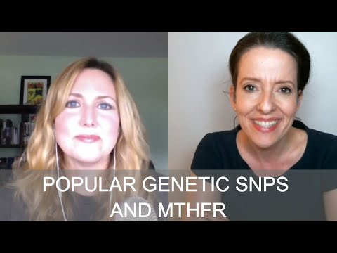 Live to 110 Podcast #116 Popular Genetic SNPs and MTHFR with Dr. Tina Christie