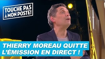 Thierry Moreau quitte TPMP en plein direct !