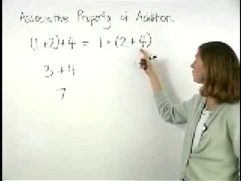 Associative Property of Addition - MathHelp.com