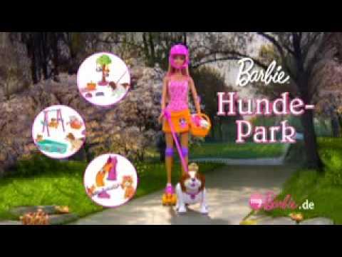 2009 ° Barbie dog park [de] doll commercial