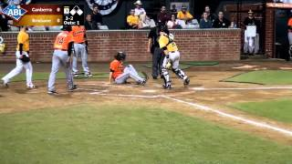 HIGHLIGHT: Cavs score, Jackson nabs Sayers at the plate, R4/G3
