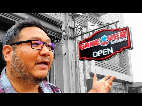 GAME OVER PH: RESPAWN - Gaming Themed Bar & Resto In Metro Manila