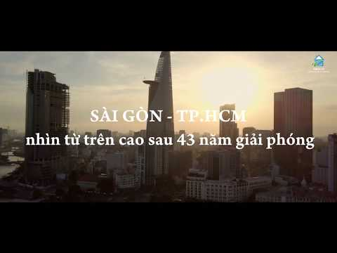 Rare Images of Sai Gon - Ho Chi Minh City From Above 4/2018 | Vres tv