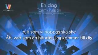 "[1989] Tommy Nilsson - ""En dag"""