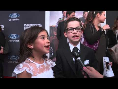 Daddy's Home: Scarlett Estevez & Owen Vaccaro Red Carpet Interview