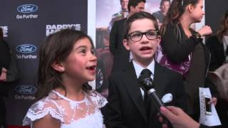 Video Daddy's Home: Scarlett Estevez & Owen Vaccaro Red Carpet Interview download MP3, 3GP, MP4, WEBM, AVI, FLV Desember 2017