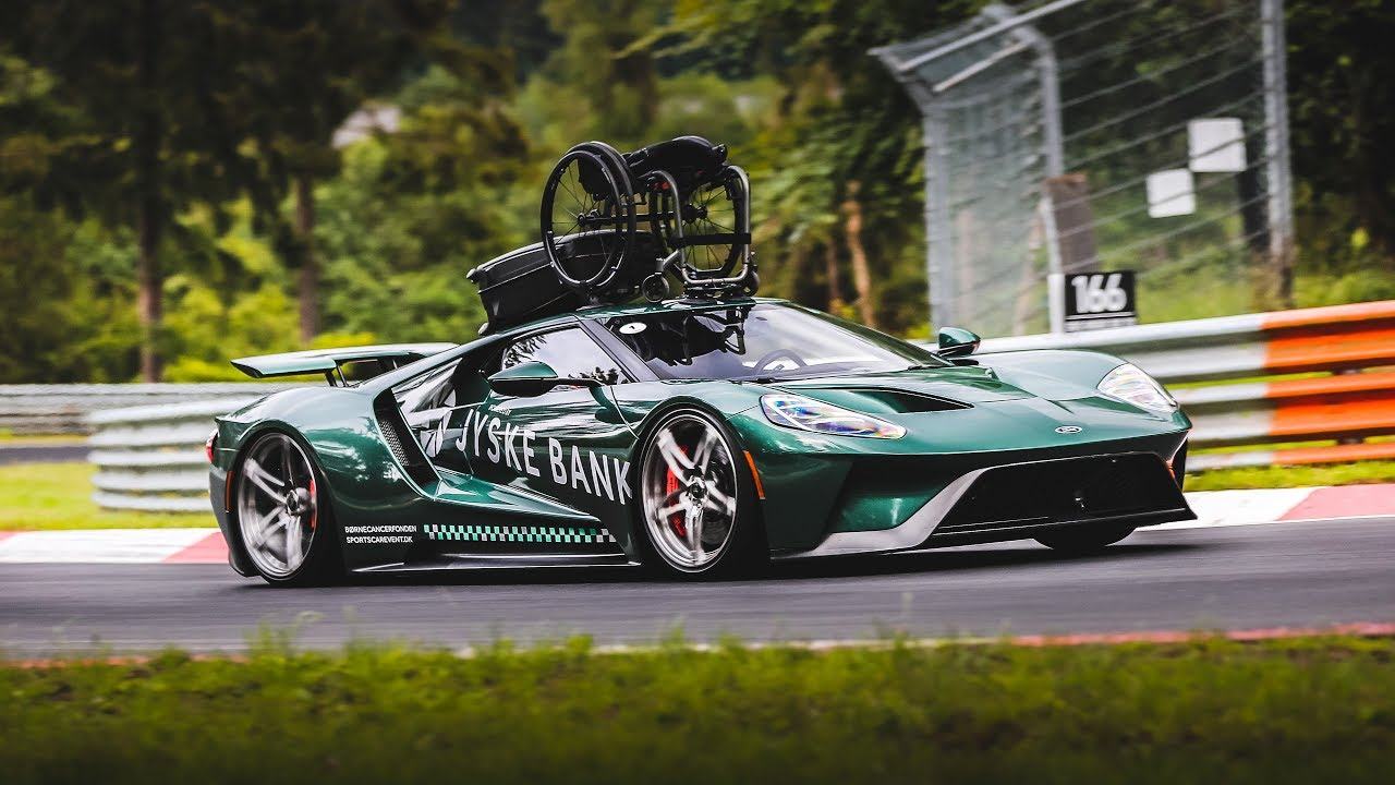 The Most Special Ford Gt In The World On The Nurburgring