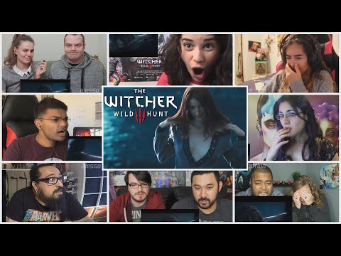 10+ Reactors!! The Witcher 3:A Night to Remember Trailer Reactions Mashup