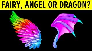 Are You A Fairy, Angel Or Dragon?
