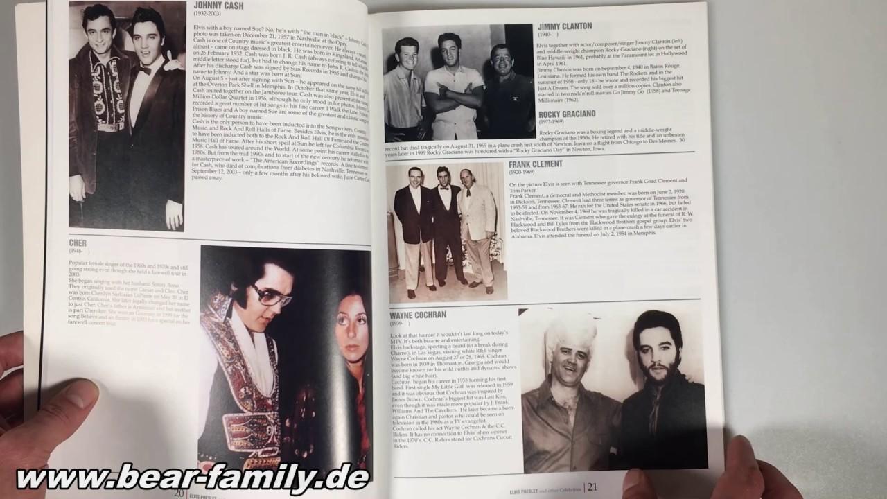 Elvis Presley And Other Celebrities Book