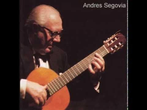 Segovia Plays Bach's Chaconne