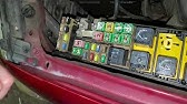 Fuse Box Location And Diagrams Ford Escape 2001 2004 Youtube
