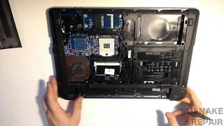 hP 4540s Complete Teardown & Upgrade (SSD, RAM, CPU, Wi-Fi Card, Screen)