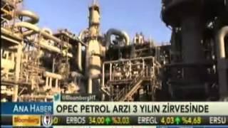 OPEC'in petrol arzı 3 yılın zirvesinde