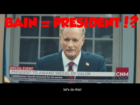 Payday 2 - ALL Ending Cutscenes (BAIN is PRESIDENT!?!?)