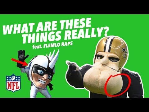 Critiquing EVERY NFL MASCOT - Secrets of the Masked Men