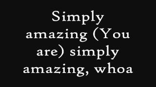 Trey Songz- Simply Amazing [Lyrics] 2012