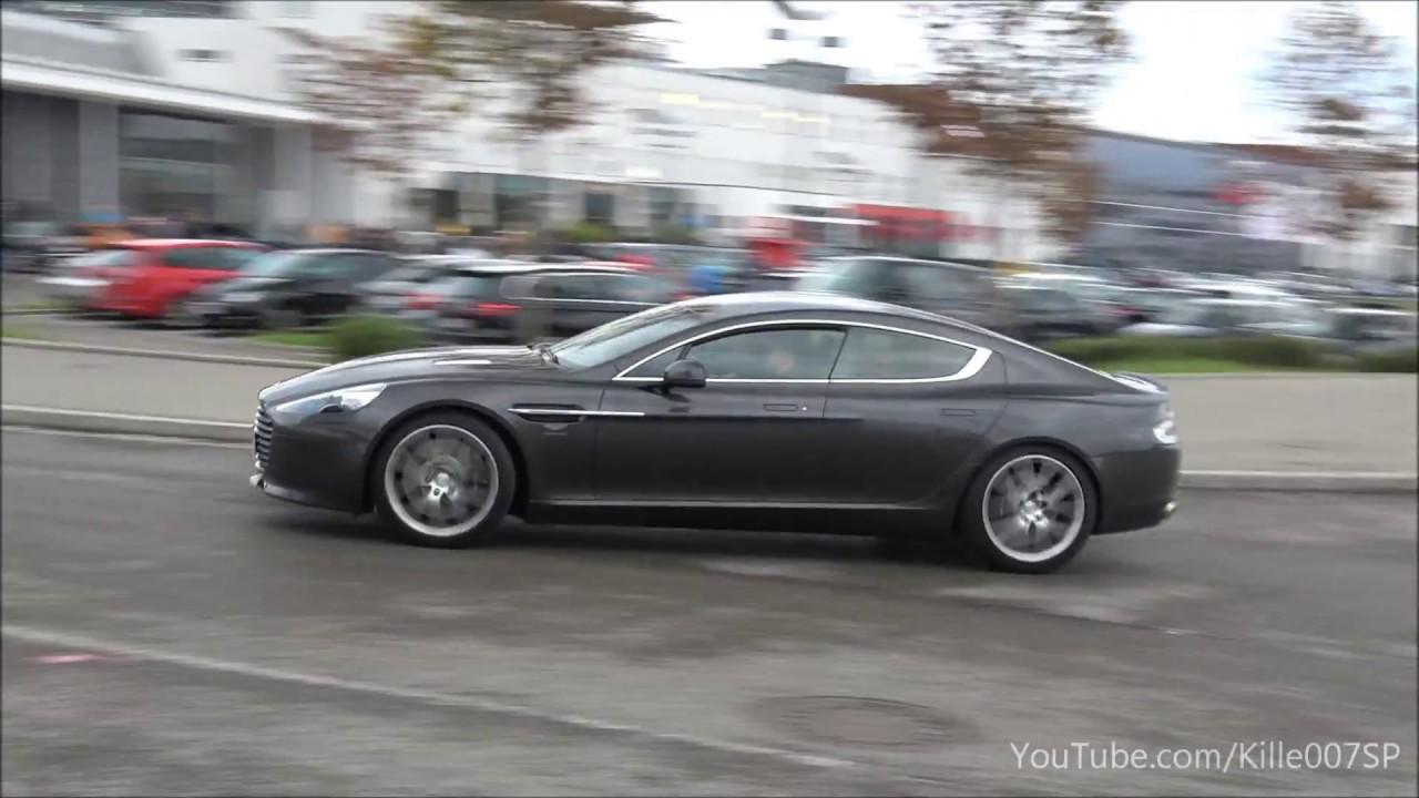 Aston Martin Rapide S Revs Ride Lovely Sounds 1080p Youtube
