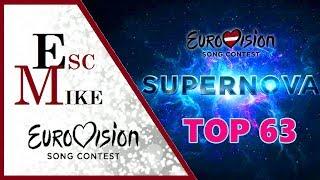 Eurovision 2018 Latvia [SUPERNOVA] - My Top 63 [Online Voting]