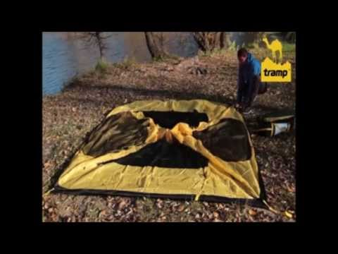 Палатка Tramp Grot B - установка, описание, обзор.