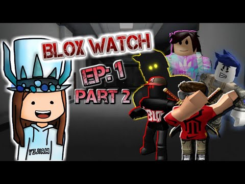 REACTION TO BLOX WATCH!?! EP:1 PART 2!(A Roblox Horror Movie)