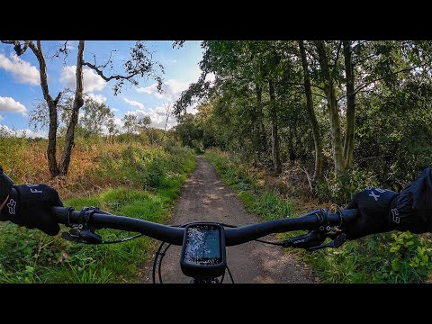 Testing again the GoPro Hero9 Black with the new settings. Dunham Massey, Altrincham and Castlefield