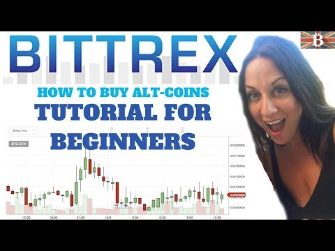 Bittrex Cryptocurrency Exchange Tutorial for Beginners: How to Buy Altcoins