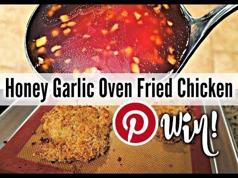 Honey Garlic Oven Fried Chicken | Pinterest WIN!!!!