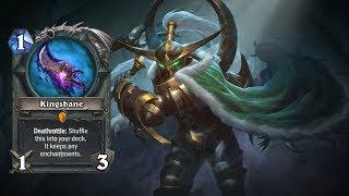 Hearthstone | Insane Rogue Kingsbane versus !